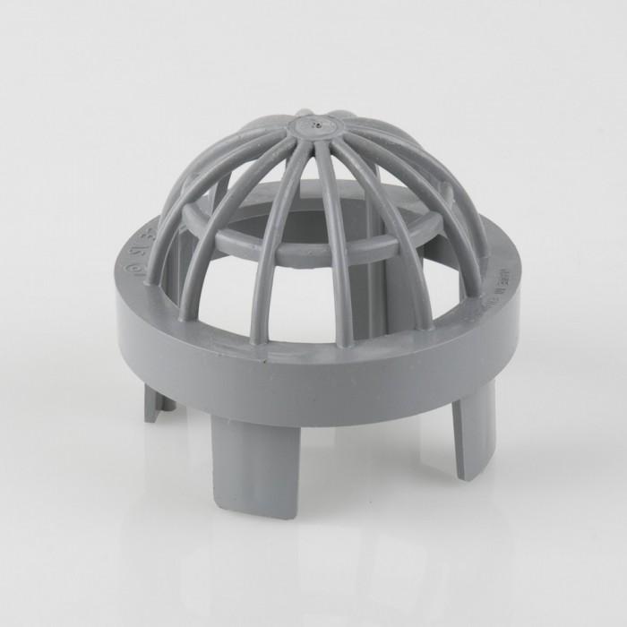 82mm pvcu push fit soil pipe vent cowl bs327 drainagecentral. Black Bedroom Furniture Sets. Home Design Ideas