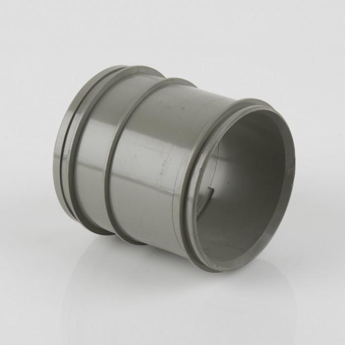 82mm solvent weld pvcu soil pipe coupler double socket for 82mm soil pipe