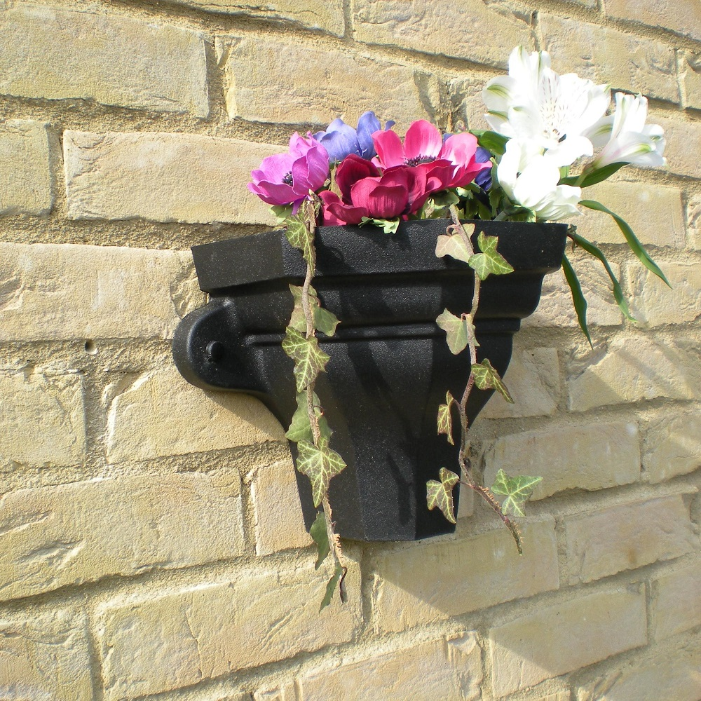 Cast Iron Effect Wall Planters