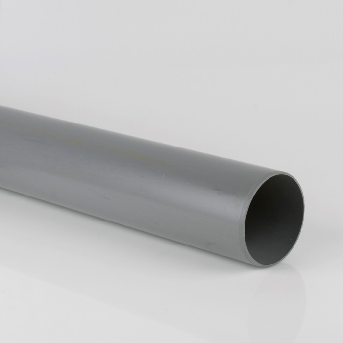 110mm Industrial Downpipe x 2.5m Grey