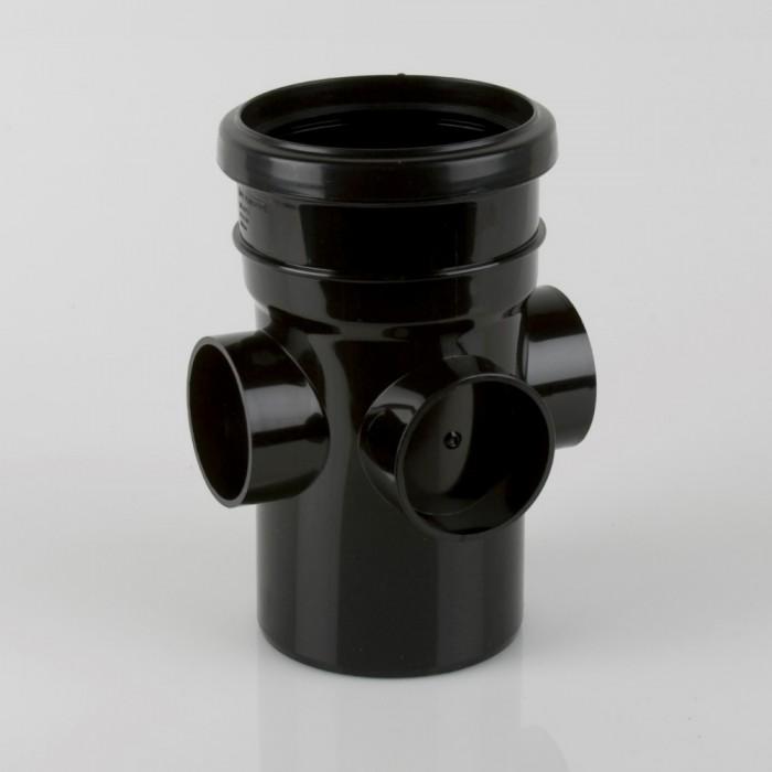 110mm Pvcu Push Fit Soil Triple Boss Pipe Soil Pipes