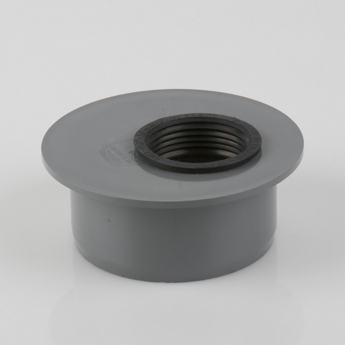 110mm X 50mm Pvcu Push Fit Waste Adaptor Soil Pipes