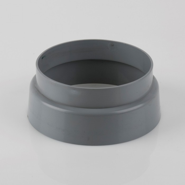 160mm Pvcu Push Fit Soil Pipe Weathering Collar Soil