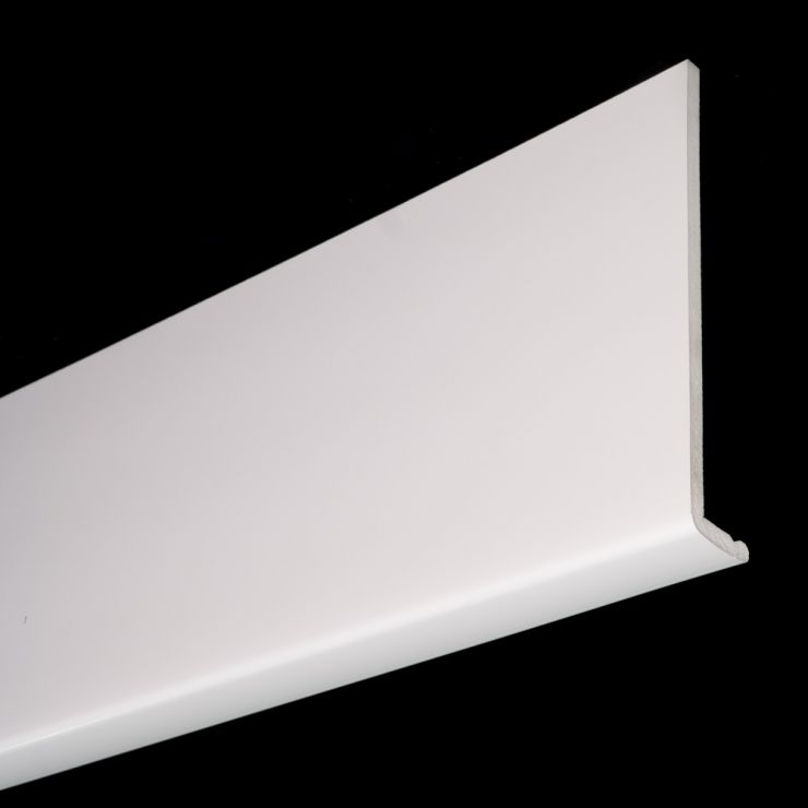225mm x 9mm UPVC Capping Board LCB225W