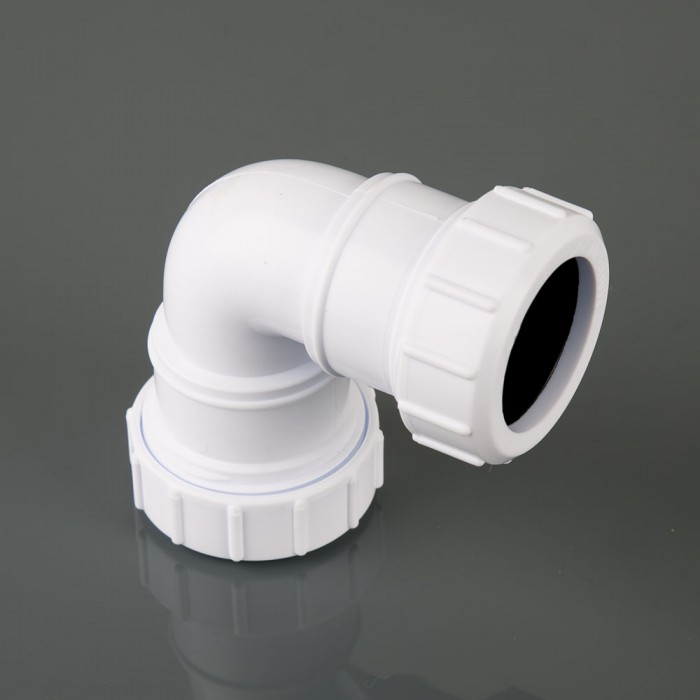 40mm Compression Waste Pipe Knuckle Bend