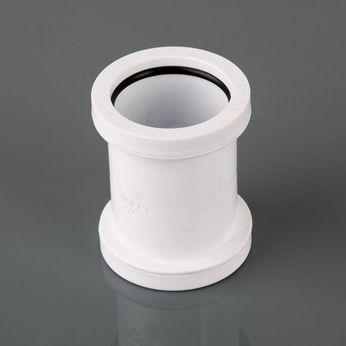 40mm Push Fit Waste Pipe Coupler W922 Drainage Central