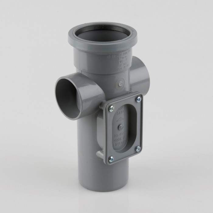 82mm Pvcu Push Fit Soil Pipe Access Pipe Soil Pipes