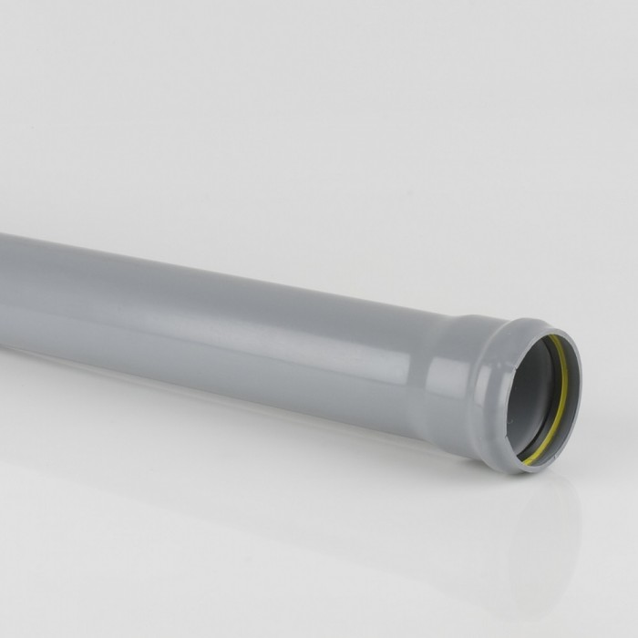 82mm pvcu push fit soil pipe x 3m single socket soil for 82mm soil pipe