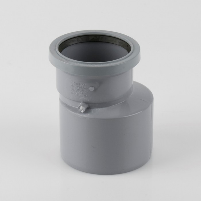 110mm x 82mm pvcu push fit soil pipe reducer soil pipes for 82mm soil pipe