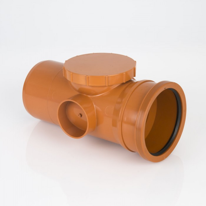 110mm S/S Drainage Access Pipe