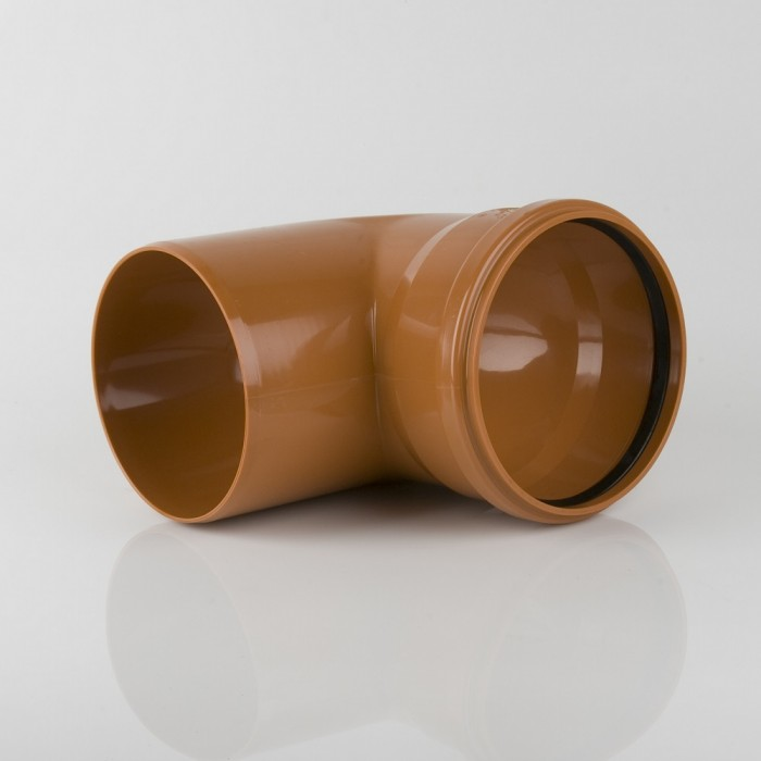 250mm Single Socket Sewer Bend 90 Degrees - Sewer Pipes