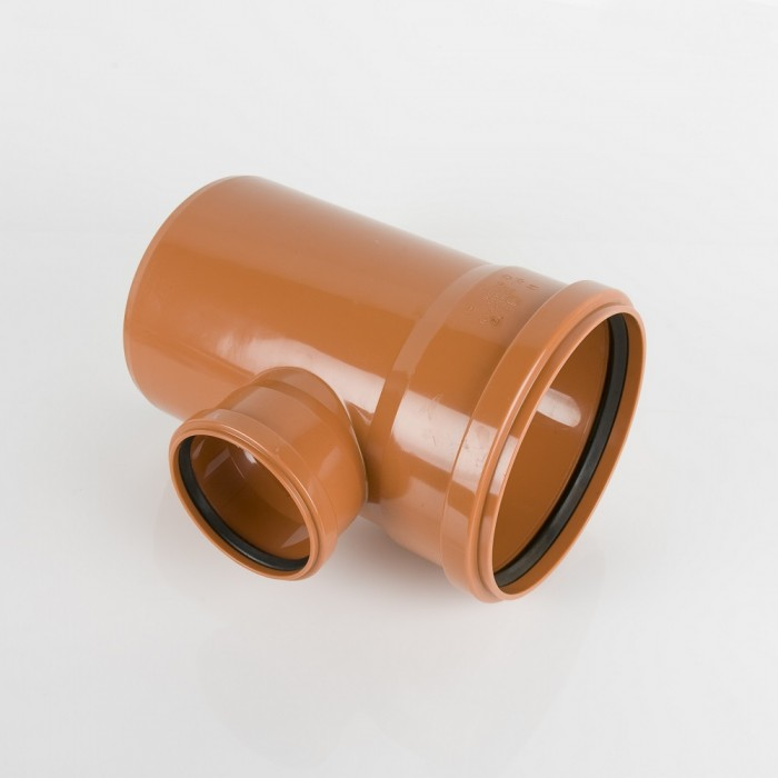 315mm x 110mm Double Socket Sewer Branch 90 Degrees B31118