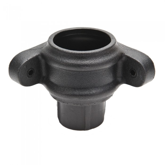 68mm Cast Iron Style Corner Downpipe Coupler