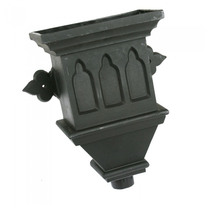 Cast Iron Style Gothic Hopper BRH4