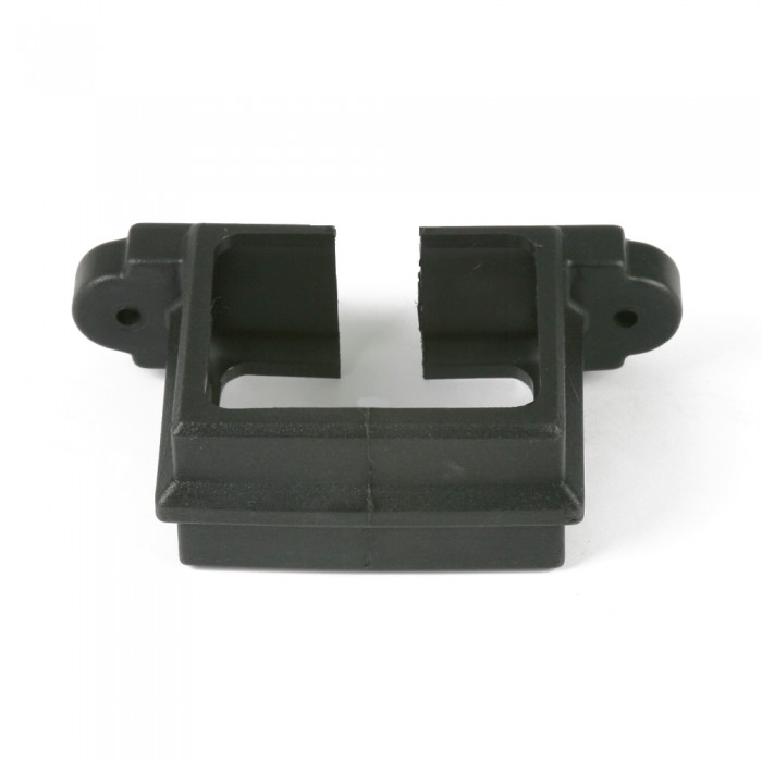 100mm x 75mm Plastic Cast Iron Style Rectangular Downpipe Clip