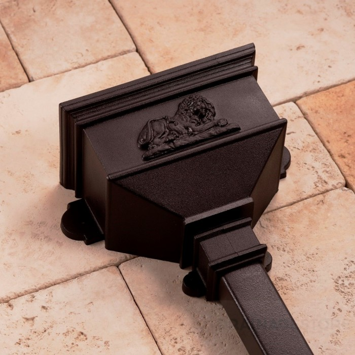 Cast Iron Style Small Hopper with Lion BRH6LN