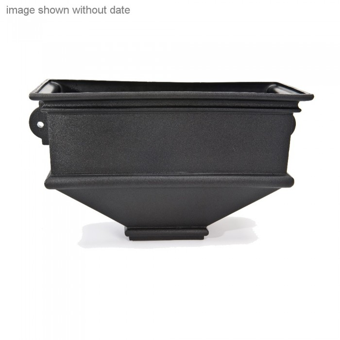 Cast Iron Style Long Box Wall Planter Dated