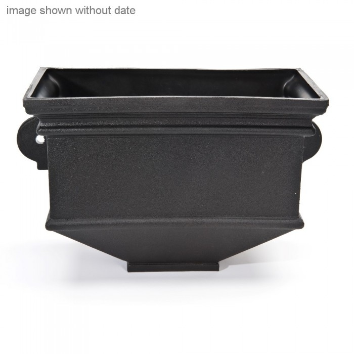 Cast Iron Style Short Box Wall Planter Dated