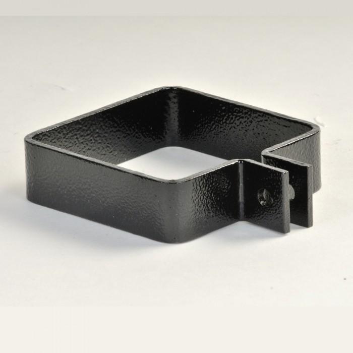 76mm Square Aluminium Downpipe Stand Off Adjustable Pipe