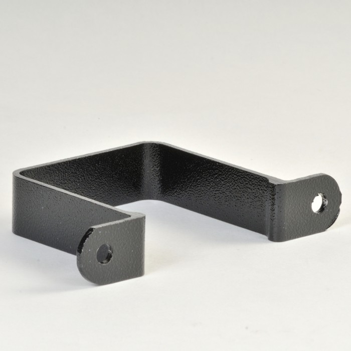 150mm Square Aluminium Downpipe Flush Fit Pipe Clip Swaged