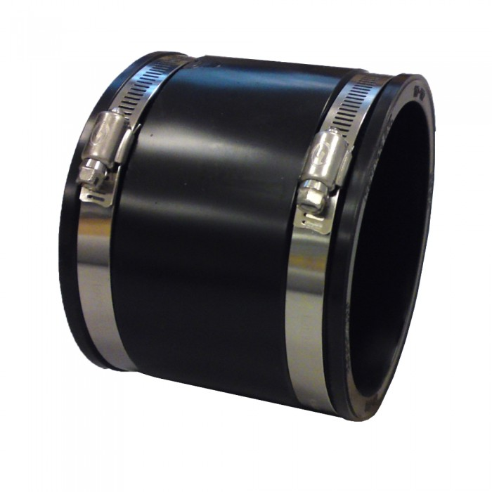 Flexible Rubber Coupling 112mm X 112mm Pvc To Pvc