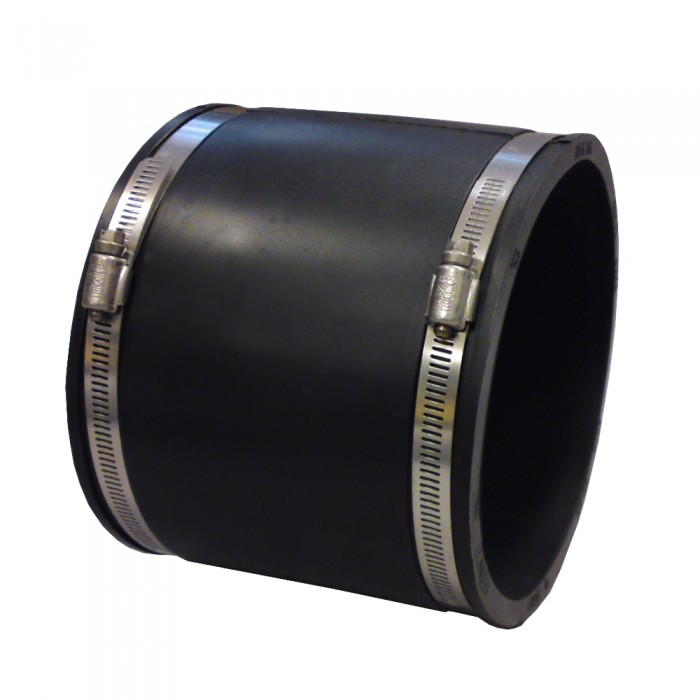 Flexible Rubber Coupling 188mm x 188mm Clay to Clay