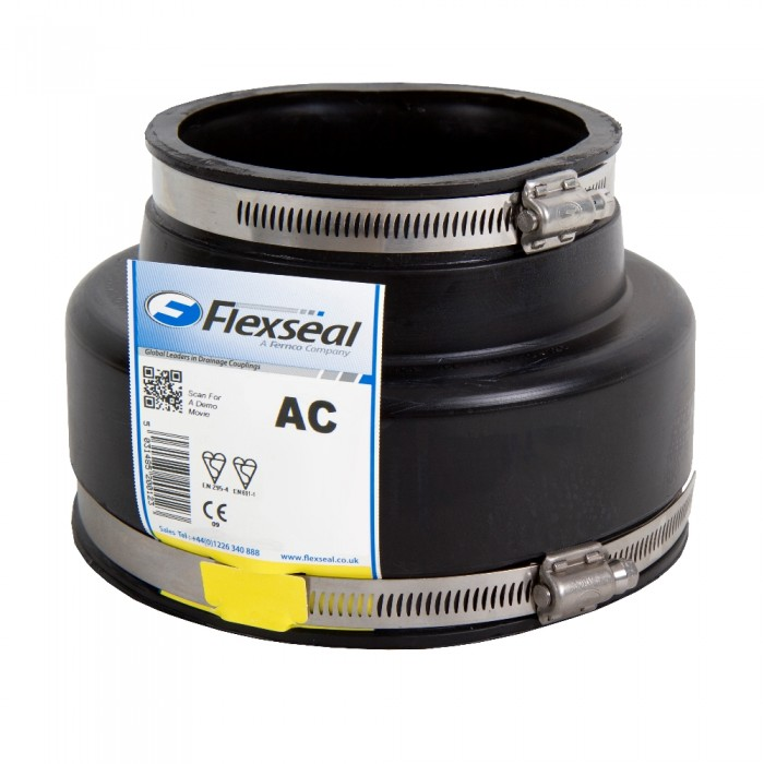 Flexseal Adaptor Coupling Drainage Central