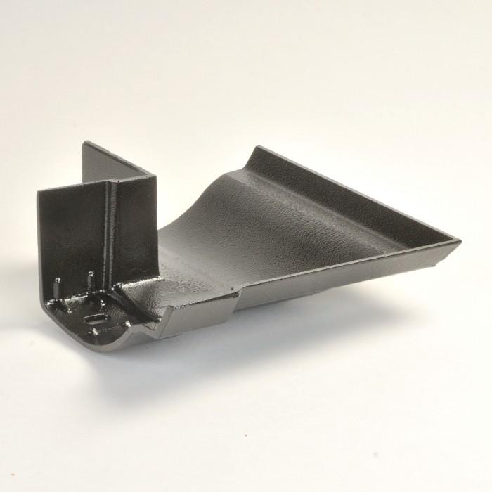 125mm Victorian Ogee Cast Aluminium Gutter Angle External