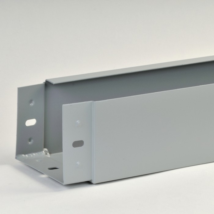 125mm X 100mm Pressed Aluminium Joggle Joint Box Gutter X