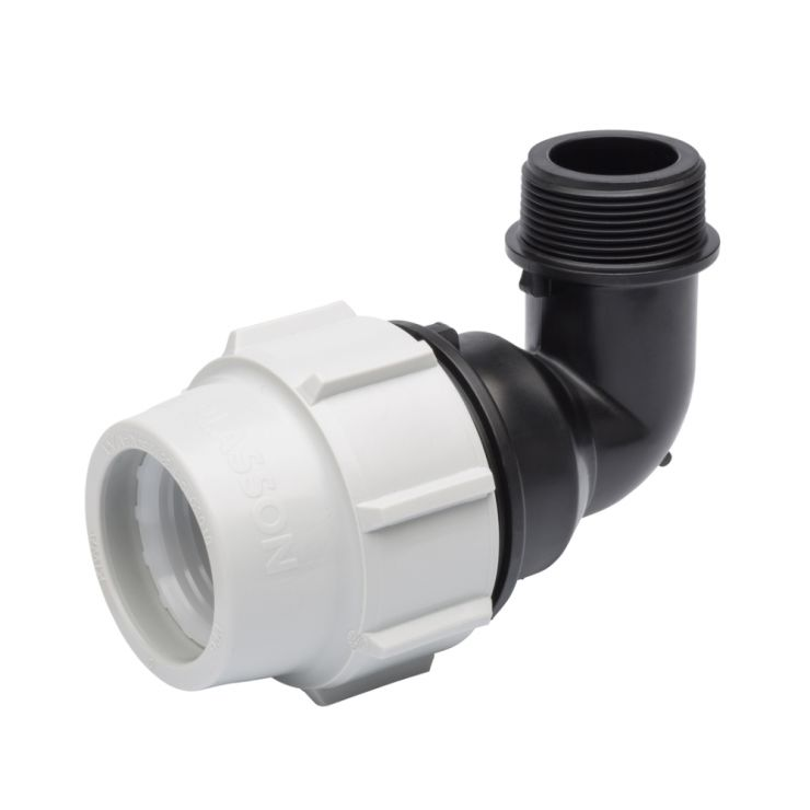 Mdpe Water Pipe Elbow With Male Thread 7850 Water Pipe