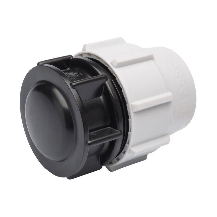 Mdpe water pipe end plug fittings