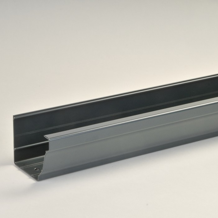 150mm Vintage Ogee Aluminium Snap Fit Gutter X 3m Extruded Aluminium Guttering Drainage Central