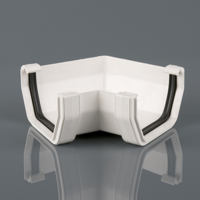 Square Pvcu Gutter Angle 120 Degrees Guttering