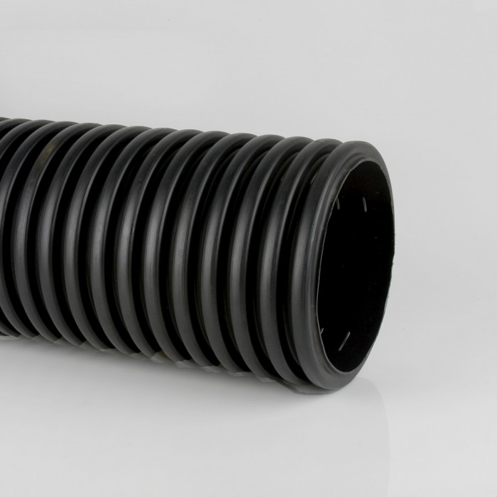 Half Perforated Twinwall Drainage Pipe X 6m Surface