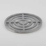 200mm round alloy grid b9151