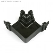 prostyle cast iron style pvcu fabricated gutter angle br8ci