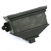 cast iron style pvcu small undated hopper brh6