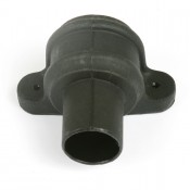 68mm round cast iron style pvcu downpipe coupler eared br206lci