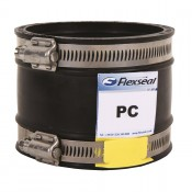 flexseal 30mm to 35mm plumbing straight coupling pc35