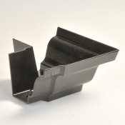 100mm moulded no 46 ogee cast aluminium gutter angle external 90 degrees