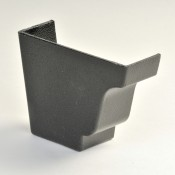 100mm moulded no 46 ogee cast aluminium gutter external stopend