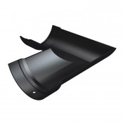 4.5 inch (115mm) half round cast iron gutter angle 90 degrees