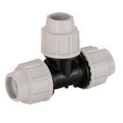 mdpe water pipe tee 90 degrees 7040