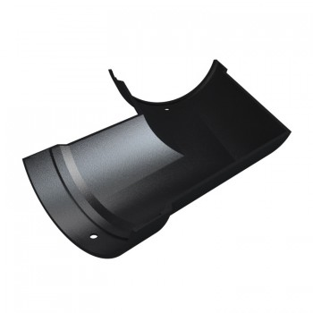 5 Inch (125mm) Half Round Cast Iron Gutter Angle 120 Degrees