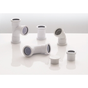 40mm Push Fit Waste Pipes and Fittings