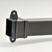 Aluminium Square Downpipes Cast Collar
