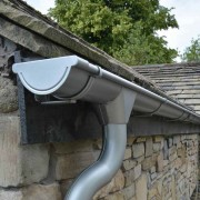 100mm Half Round Steel Gutter