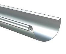 Lindab Majestic Galvanised Steel Gutter & Downpipe